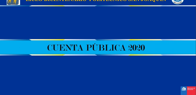 Cuenta Publica 2020